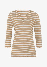 BRAX - STYLE CLAIRE - Long sleeved top - sand - 5