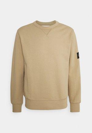 MONOGRAM SLEEVE BADGE - Sweatshirts - beige