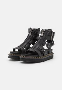 Dr. Martens - OLSON - Ankle cuff sandals - black aunt sally - 2