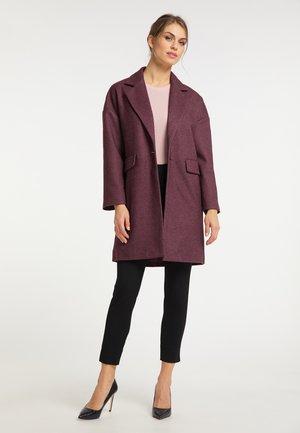Classic coat - bordeaux