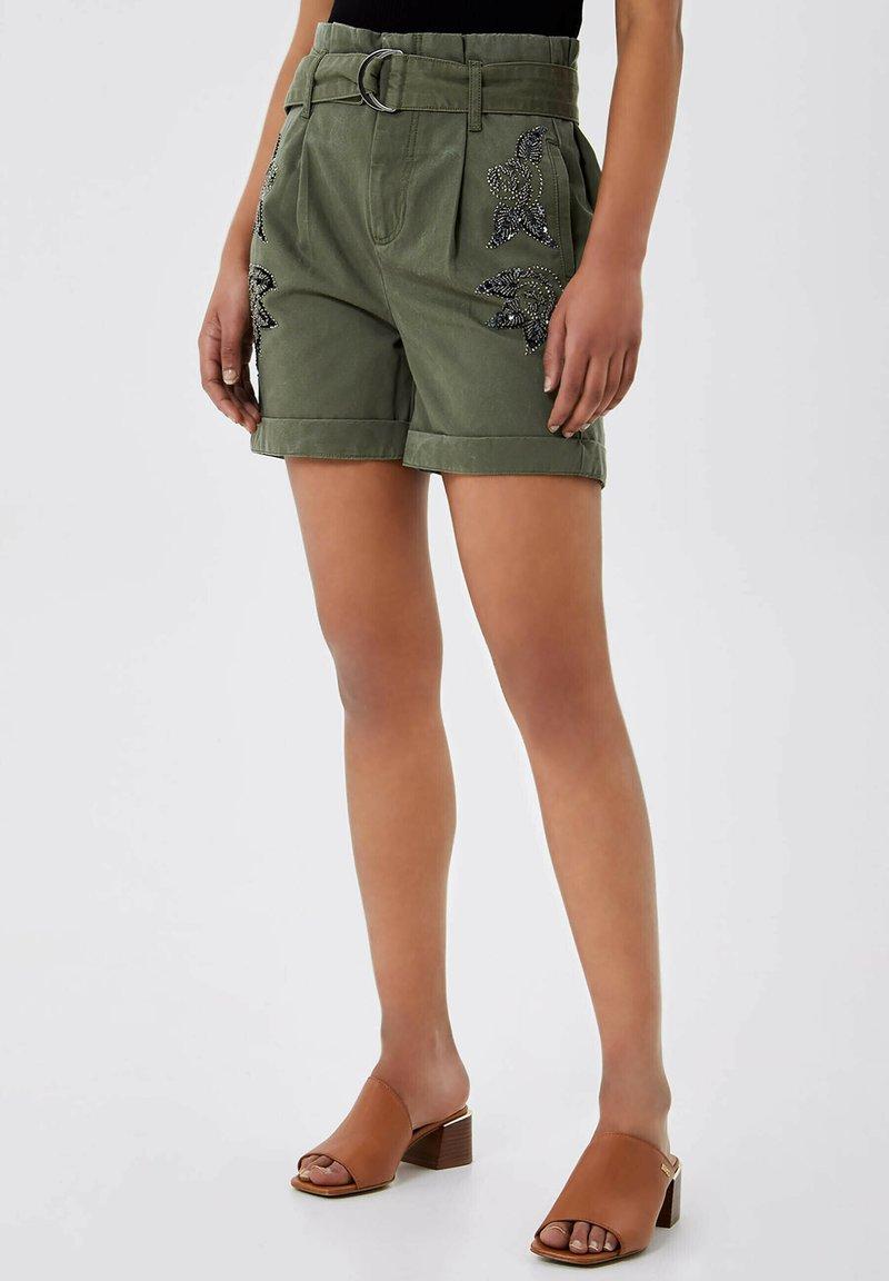 LIU JO - Shorts - sage