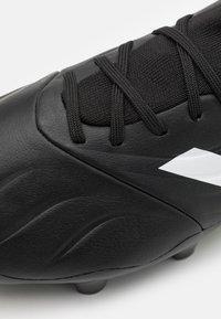 adidas Performance - COPA SENSE.3 FG - Moulded stud football boots - core black/footwear white/solar yellow - 5