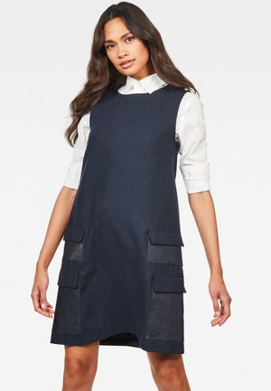 BLAKE MULTI POCKETS - Day dress - mazarine blue