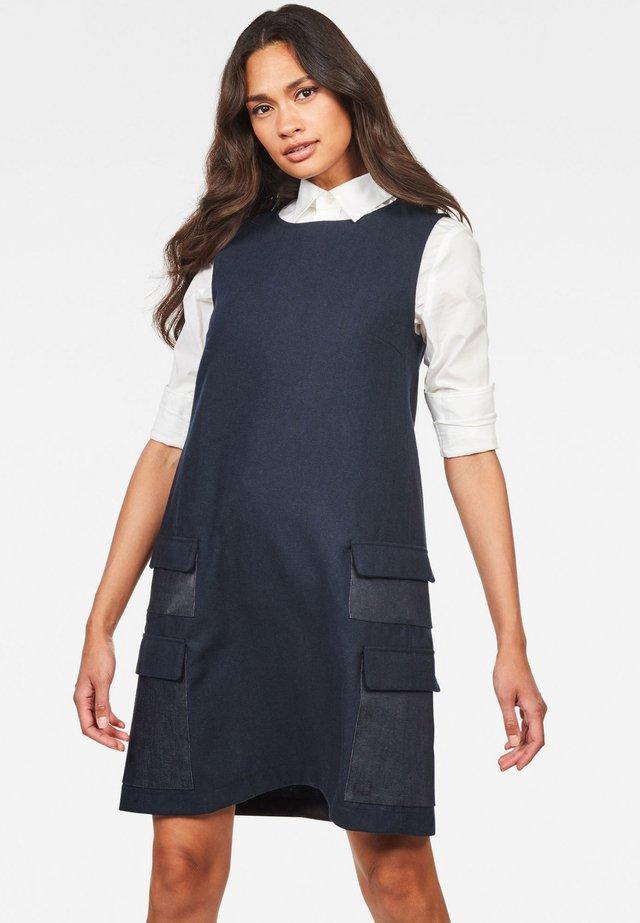 BLAKE MULTI POCKETS - Day dress - mazarine blue