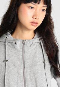 Urban Classics - LADIES TERRY  - Zip-up hoodie - grey - 3