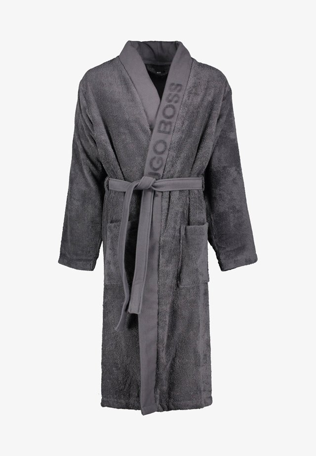 Dressing gown - anthracite