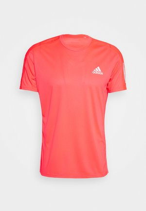 RESPONSE RUNNING SHORT SLEEVE TEE - T-shirt con stampa - pink