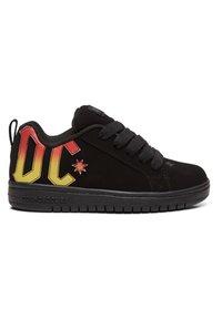 DC Shoes - Trainers - black/black/orange - 5