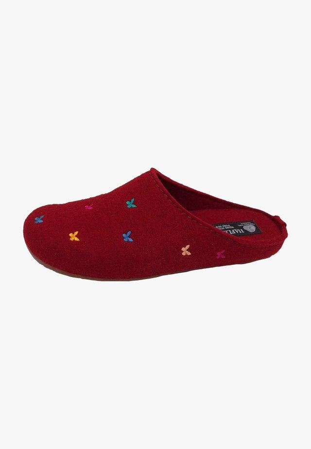 Clogs - dark red