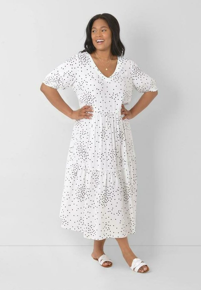 Live Unlimited London - Day dress - white
