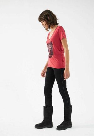 Print T-shirt - fraise