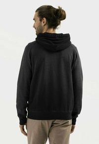 camel active - Zip-up sweatshirt - asphalt - 2