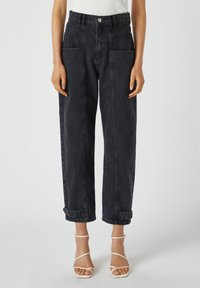 PULL&BEAR - Relaxed fit jeans - black - 0