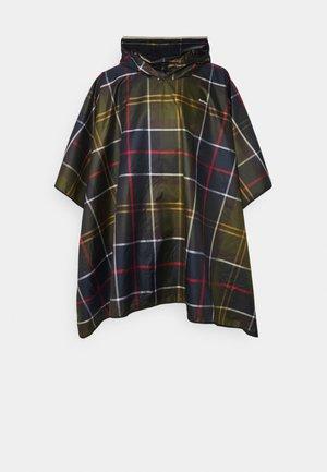 SHOWERPROOF PONCHO UNISEX - Cape - classic tartan
