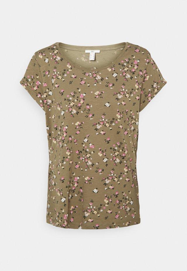 COO CORE - T-shirt print - khaki
