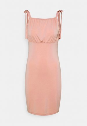 VIAMANDA SHORT STRAP DRESS - Jersey dress - misty rose