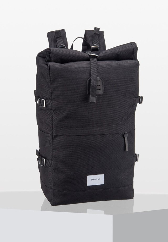 BERNT ROLL TOP  - Rucksack - black