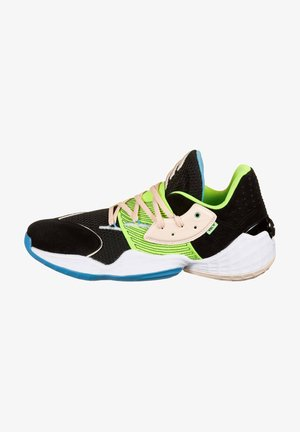 Basketbalschoenen - core black / tint / signal green