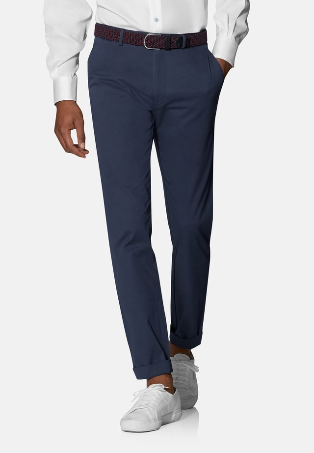 RADCLIFFE SLIM FIT STRETCH - Chinos - blue