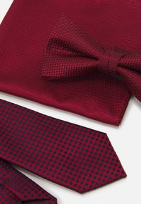 Jack & Jones - JACNECKTIE GIFT BOX SET - Fazzoletti da taschino - bordeaux - 6