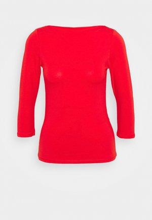 ONLLIVE LOVE BOATNECK - Maglietta a manica lunga - high risk red