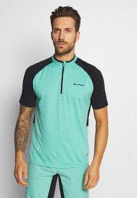 Vaude - TAMARO - T-shirt z nadrukiem - lake - 0