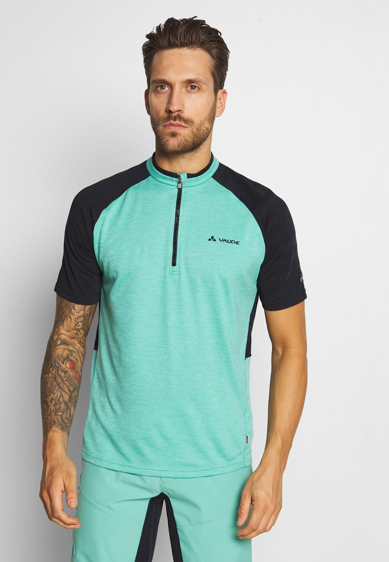 Vaude - TAMARO - T-shirt z nadrukiem - lake