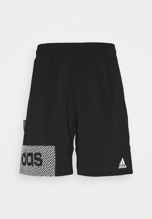 AEROREADY TRAINING SHORTS - Sports shorts - black/white