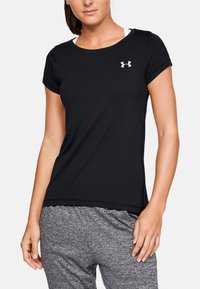 Under Armour - HG Armour SS - T-shirts - black - 0