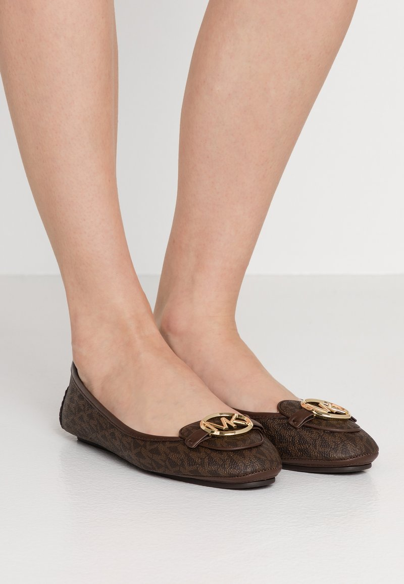 MICHAEL Michael Kors - LILLIE  - Baleriny - brown