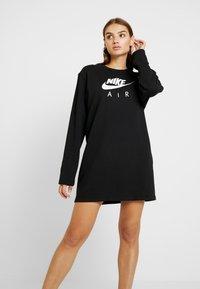 Nike Sportswear - AIR CREW  - Denní šaty - black - 0