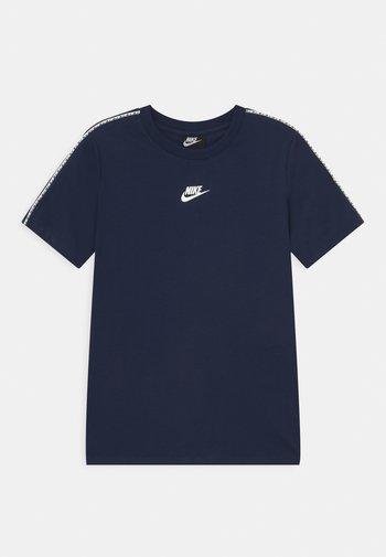 REPEAT - Camiseta estampada - midnight navy