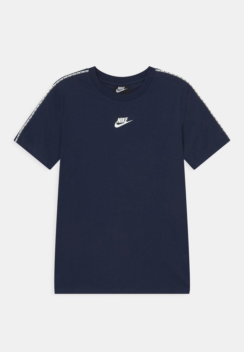 Nike Sportswear - REPEAT TEE - T-shirt print - midnight navy