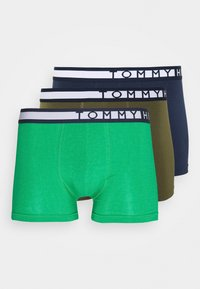 Tommy Hilfiger - TRUNK  3 PACK - Pants - green - 4