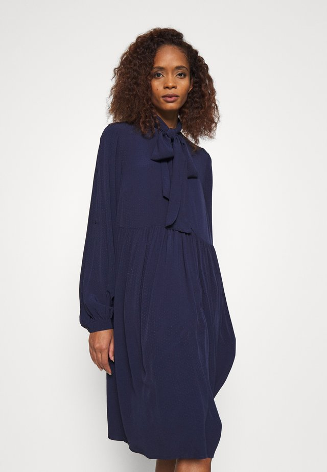 ENISEGZ SHORT DRESS  - Day dress - peacoat