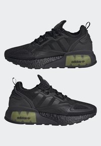 adidas Originals - ZX 2K BOOST J - Trainers - black - 4