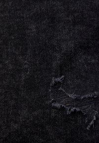PULL&BEAR - SCHWARZE SUPER-SKINNY-FIT-JEANS MIT ZIERRISSEN 05682540 - Džíny Slim Fit - dark grey - 5