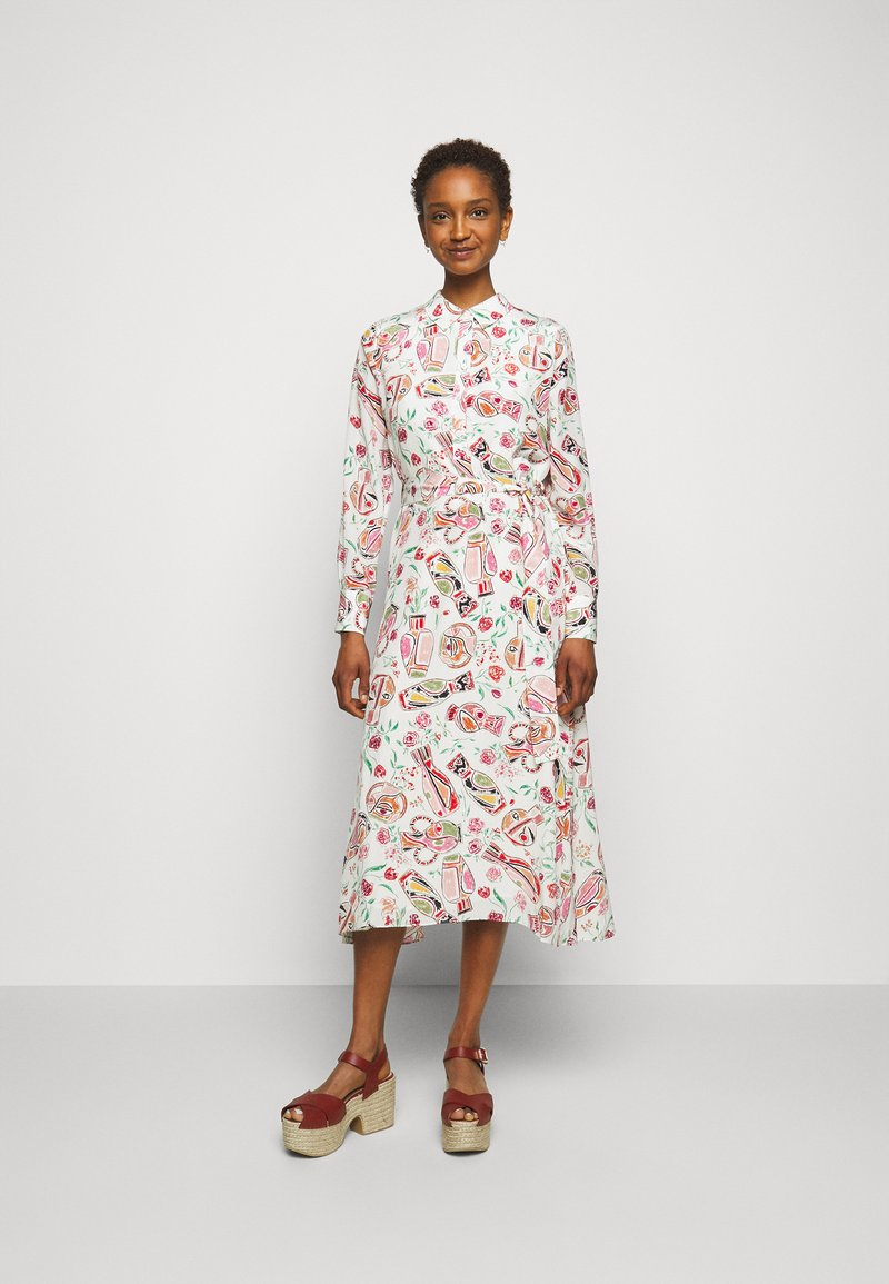 Claudie Pierlot - ROSALINDA - Shirt dress - clair