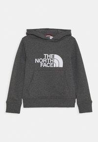 The North Face - DREW PEAK HOODIE UNISEX - Bluza z kapturem - medium grey heather - 0