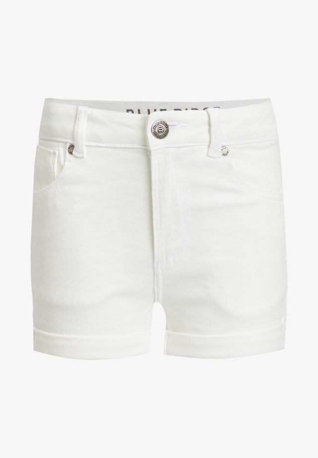 Short en jean - white