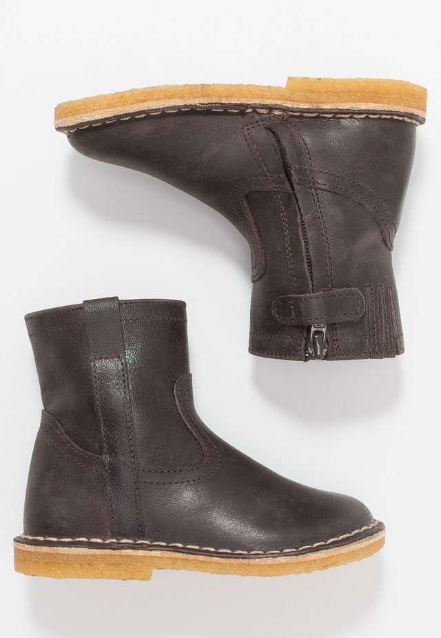 Bottines - dark brown