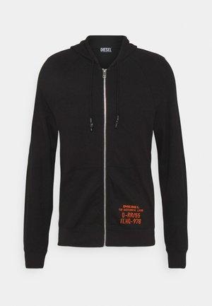 BRIANZ - Sweat à capuche zippé - black