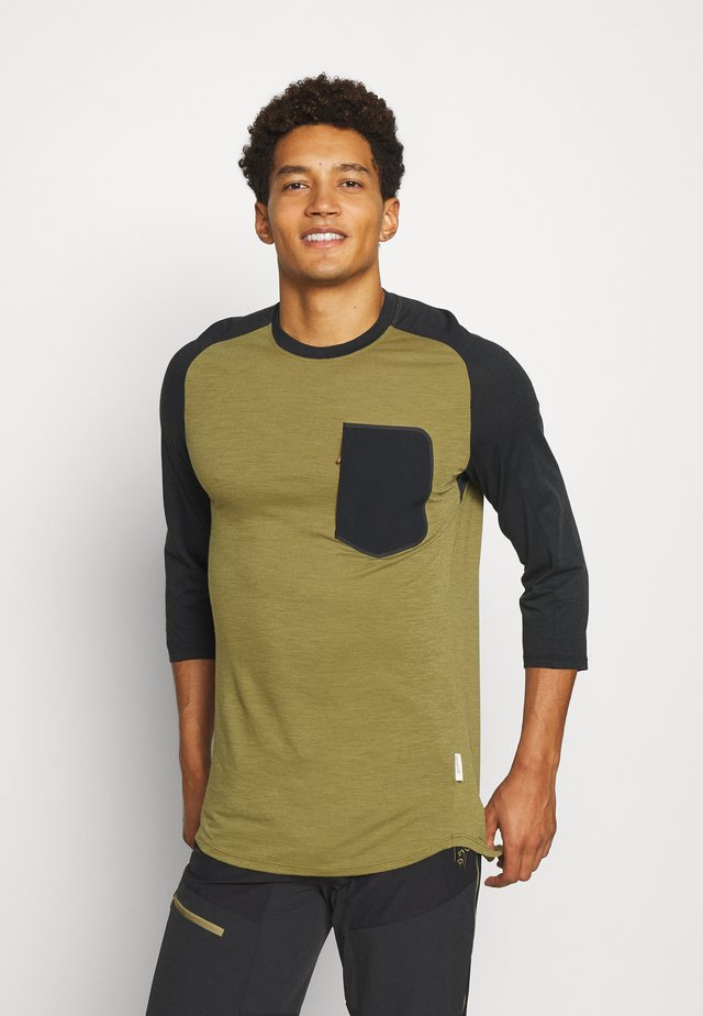 SKIBOTN 3/4  - Sports shirt - olive drab