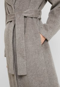 Whistles - DARCEY DRAWN BELTEDWRAP COAT - Classic coat - grey - 5