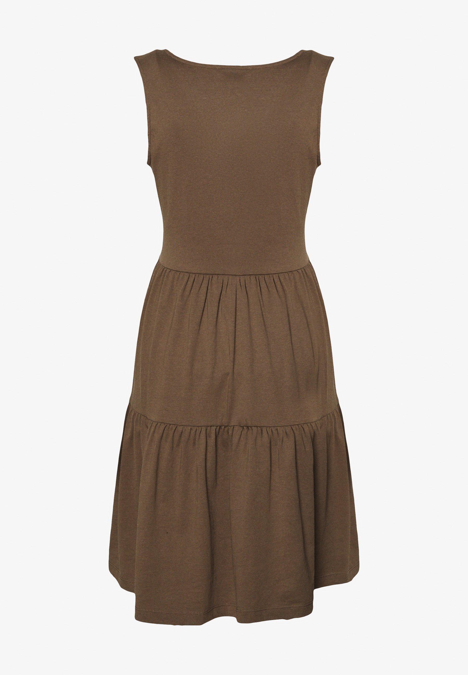 Donna JDYFENNA LIFE V NECK DRESS - Vestito di maglina
