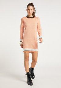 myMo - Jumper dress - orange - 1