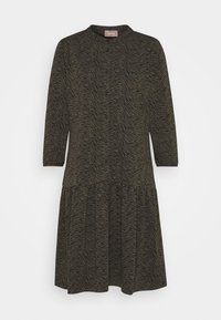 Cartoon - Jersey dress - khaki/black - 0