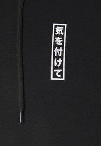 YOURTURN - TOKYO STREET HOODIE UNISEX - Mikina skapucí - black - 2