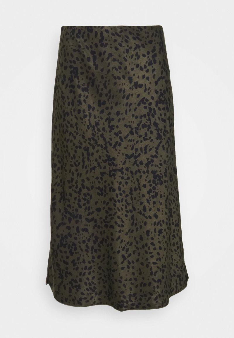 someday. - OLANDA LEO - A-line skirt - blended oliv