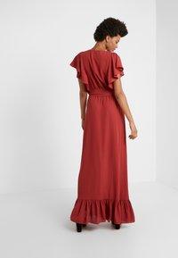 DESIGNERS REMIX - BYRON DRESS - Maxi dress - ox blood - 2
